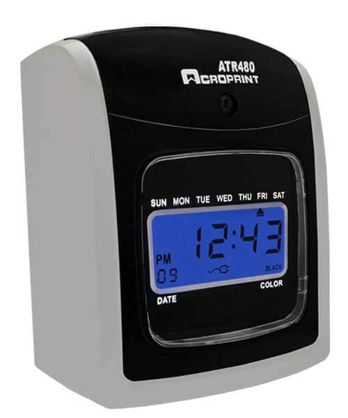 Central Arkansas Acroprint Attendance Totalizing Time Clock