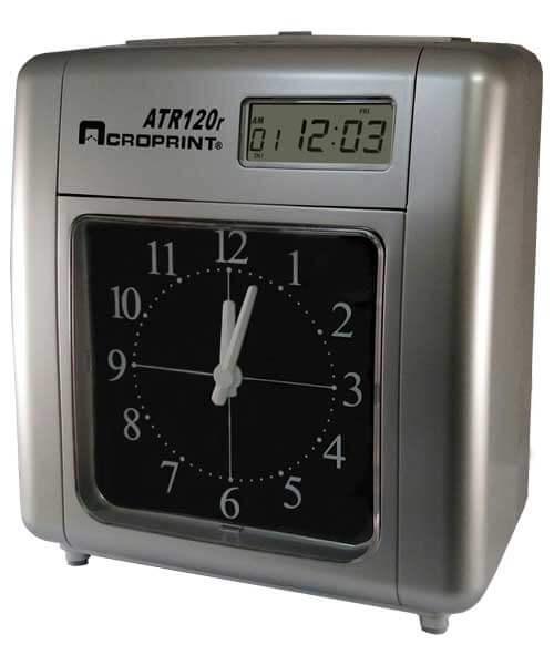 Central Arkansas Acroprint Attendance 120r Time Clock