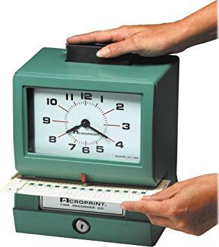 Central Arkansas Acroprint Attendance 150 Time Clock