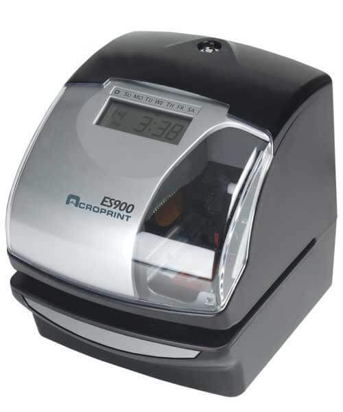Central Arkansas Acroprint Attendance Time Recorder